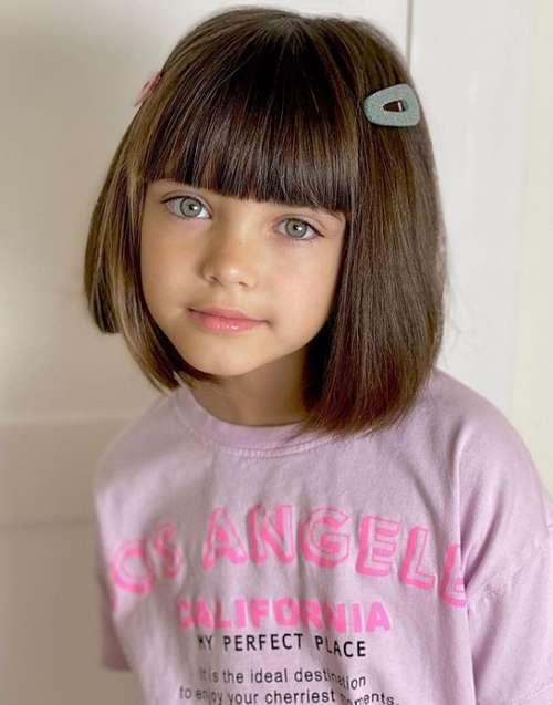 Haircuts fashionable for girls