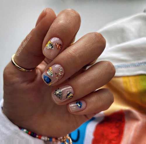 Marine manicure trend